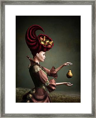 Madam Fruit Framed Print