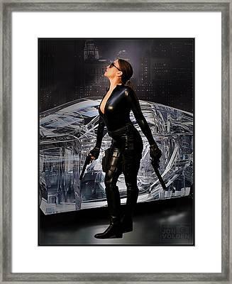 Madam Matrix Framed Print