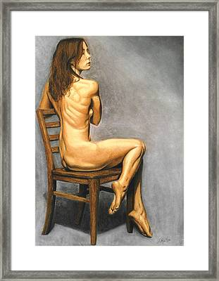 Madame Brooke Framed Print by Joseph Ogle