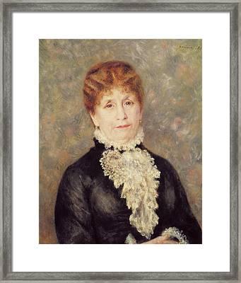 Madame Eugene Fould Framed Print