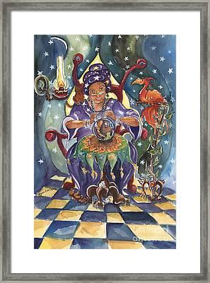 Madame Fortune Teller Framed Print