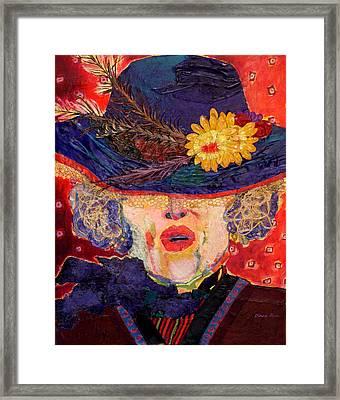 Madame Hatter Framed Print