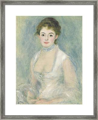 Madame Henriot Framed Print