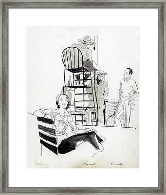 Madame Marcel Rochas Framed Print