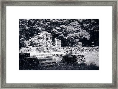 Madame Sherri Castle Ruins Framed Print by David Fiske