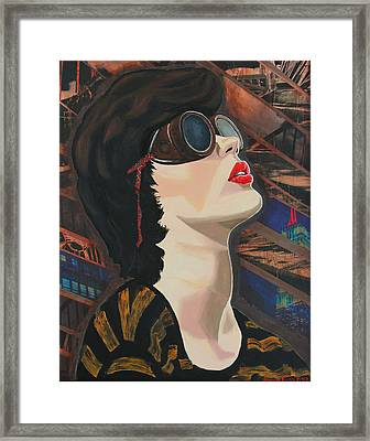 Maddiev Framed Print by Miriam Tiritilli