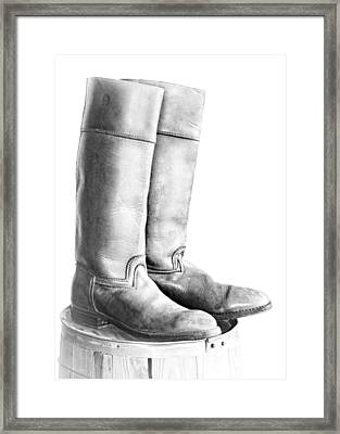 Made For Riding Framed Print by Nikolyn McDonald