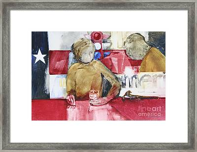 Made In America Framed Print by Helen Hayes