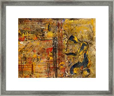 Made In The Likeness Of ? Framed Print