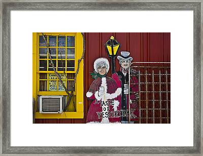 Made In The Shade Framed Print by Skip Hunt