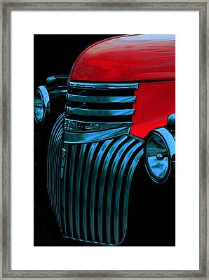Made Of Steel Framed Print by Jack Zulli