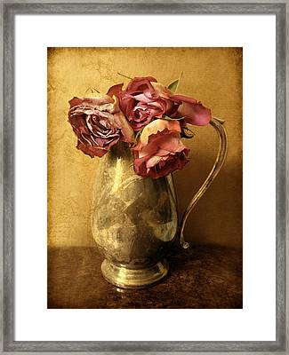 Madeira Roses Framed Print by Jessica Jenney