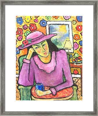 Mademoiselle Espame Framed Print by Chaline Ouellet