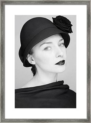Mademoiselle II Framed Print by Silvia Floarea Toth