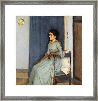 Mademoiselle Monnom Framed Print