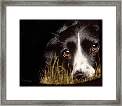 Madge Framed Print