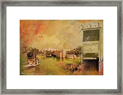 Madinat Jumeirah Framed Print by Catf