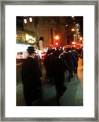 Madison Ave. Framed Print