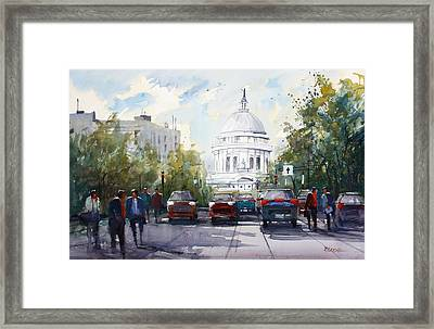 Madison - Capitol Framed Print