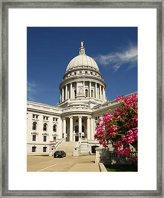 Madison City Hall Framed Print