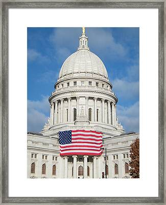 Madison Dome Framed Print