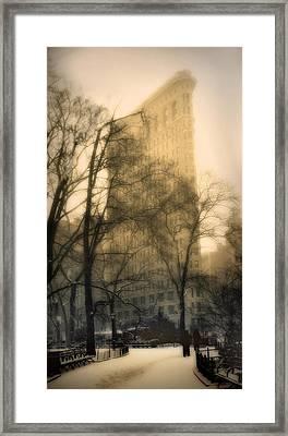 Madison Square Park Framed Print