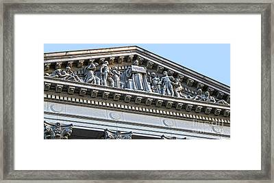 Madison Wisconsin Capitol Building - 07 Framed Print by Gregory Dyer
