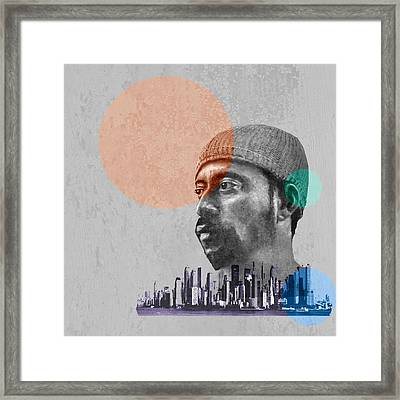 Madlib - Urban Framed Print