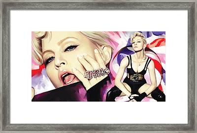 Madonna Artwork Framed Print