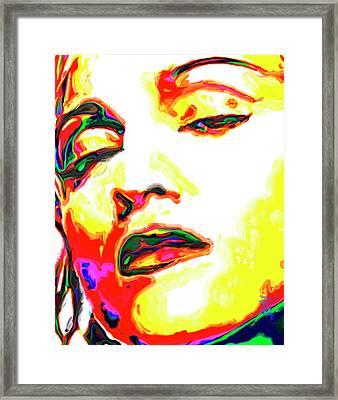 Madonna Framed Print by  Fli Art