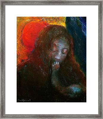 Madonna Framed Print by Daniel Bonnell
