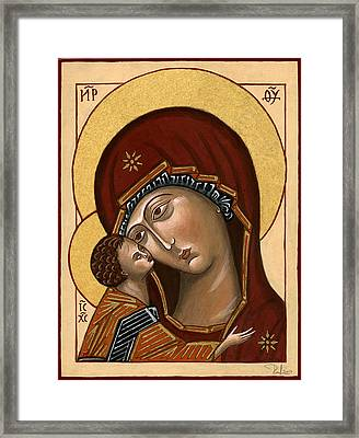 Madonna Della Tenerezza - Our Lady Of Tenderness Framed Print