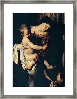 Madonna Di Loreto Framed Print