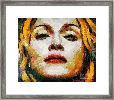 Madonna Framed Print by Dragica  Micki Fortuna