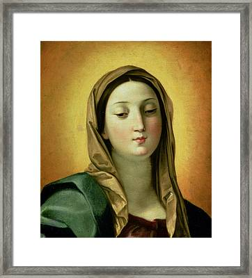 Madonna Framed Print by Guido Reni