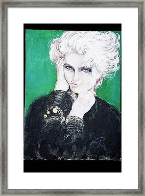 Madonna  Framed Print by Jade Pasteur