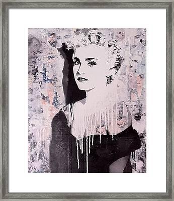 Madonna Framed Print by John Little