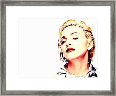 Madonna Framed Print by Jonas Luis