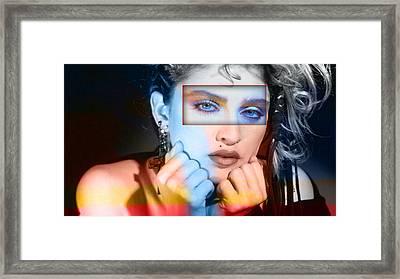 Madonna Framed Print by Marvin Blaine