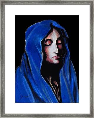 Madonna Of Sorrows Framed Print by John Keaton
