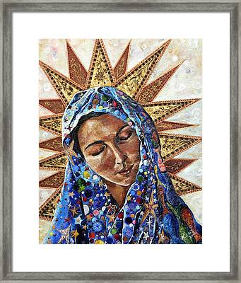 Madonna Of The Dispossessed Framed Print
