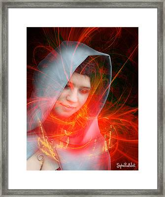 Madonna Of The Stars Framed Print by Stephen Paul West