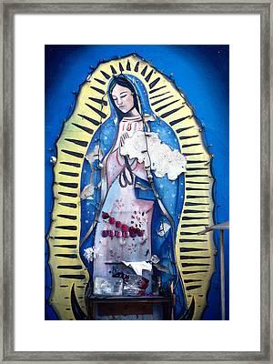 Madonna Painting Framed Print by Mark Goebel