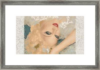 Madonna Wow Framed Print