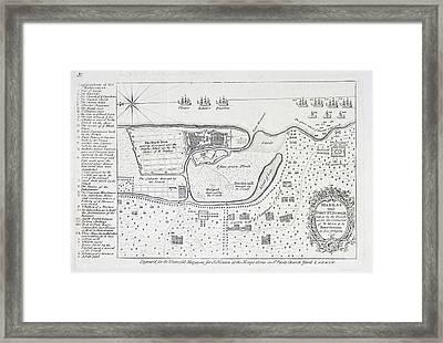Madras And Fort Stgeorge Framed Print