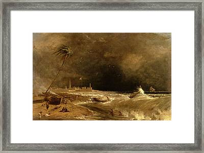 Madras, Or Fort St. George, In The Bay Of Bengal -- Framed Print