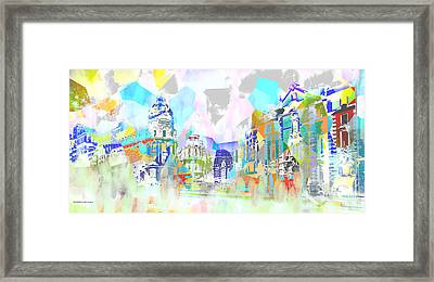 Madrid 1 Framed Print