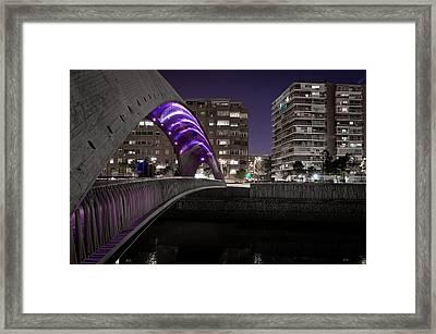 Madrid Rio Framed Print by Pablo Lopez