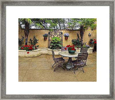 Madrones Wineries Framed Print