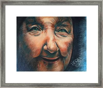 Mae Framed Print